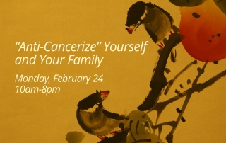 """Anti-Cancerize"" Yourself and Your Family"