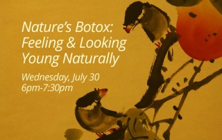 Nature's Botox: Feeling & Looking Young Naturally